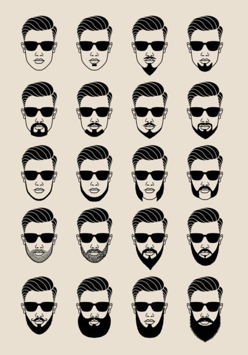 Facial Hair Design Ideas